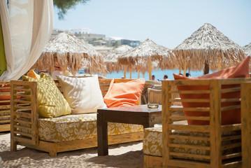 At the beach - Mykonos