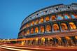Fototapeta Coloseum - Włochy - Pomnik Artystyczny