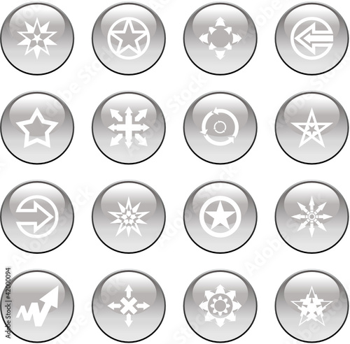 set vector icons