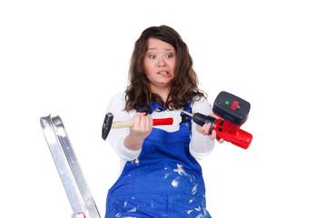 talentfreie heimwerkerin