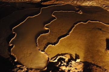 Gourd au fond de la grotte de Trabuc
