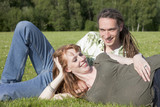 Young Couple on a meadow
