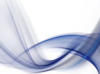 Elegant dark blue fractal background