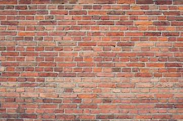 фактурная кирпичная стена