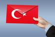 turkey, letter