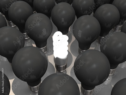 3d model of bulbs