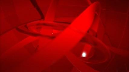 Loop Background, red fractal