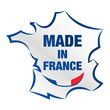 made in france - carte de france