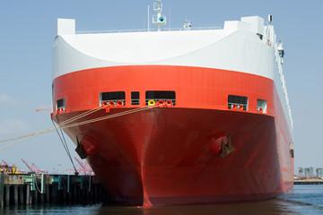 Large car carrier ship