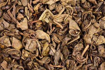 dry green tea