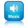 Music Blue Button