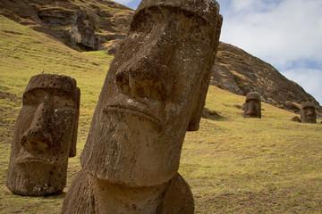 Rano Raraku, Rapa Nui.