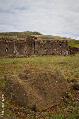 Ahu Vinapu, Rapa Nui.