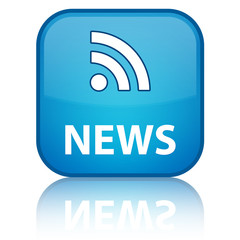 """News rss"" square button"