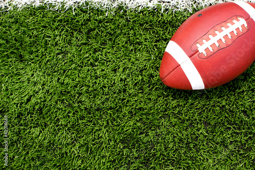 Football on the Field - 42014669