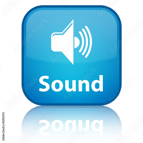 Sound Blue Button