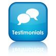 """Testimonials"" glossy button"