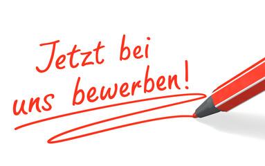 Stift & Schrift-Serie: Jetzt bei uns bewerben! rot
