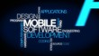 Mobile software development tag cloud video