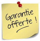 post-it ; garantie offerte