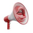 Mouth shaped loud speaker