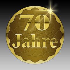 70 jähriges Jubiläum