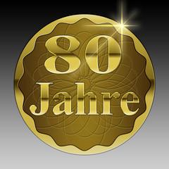 80 jähriges Jubiläum