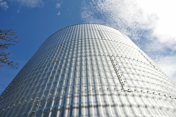 Grain Bin Close-up