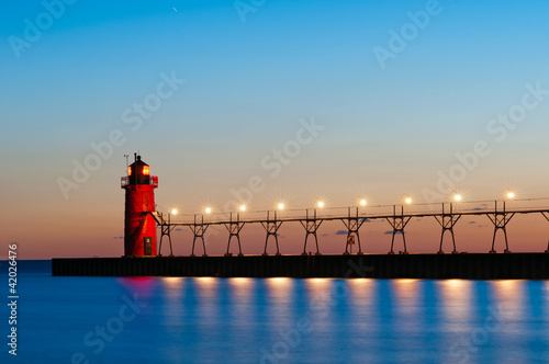 South Haven Lighthouse.