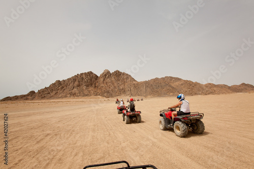 Quad bike safari in Egypt