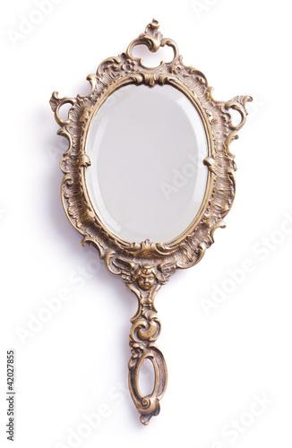 Leinwandbild Motiv Hand mirror