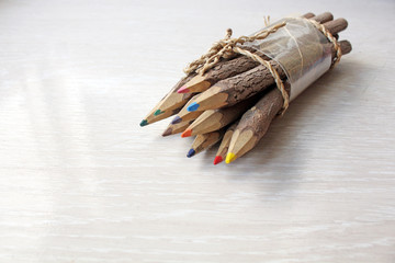 Lápices de madera