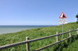 Au bord de la falaise,Manche,Somme