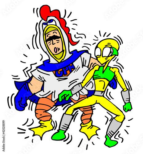 Funny cartoon characters