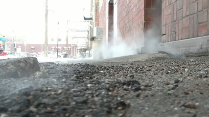 Steam Coming Out of the Ground