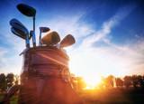 Fototapeta narzędzia - tok - Golf