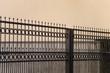 Zaun - Einfahrt - Gitter