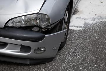 Unfall - Schaden - Autounfall