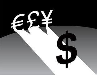 Dollar dominates