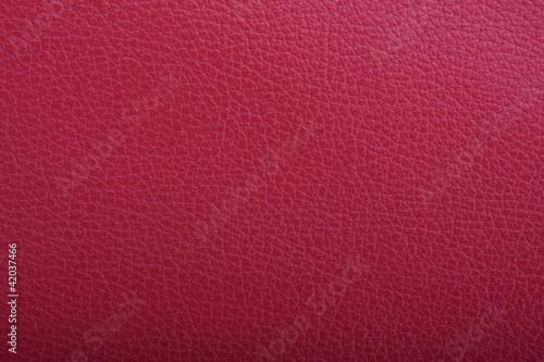 Deurstickers Leder Rote Leder Oberfläche