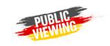 Farbkleckse - Public Viewing