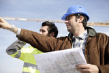 Architect on construciton site