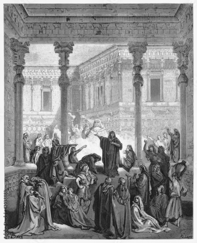 Daniel Confounding The Priests Of Bel