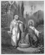 Jesus and the woman from Samaria