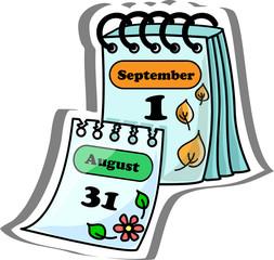 мультфильм календарь