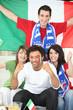 italian soccer supporters