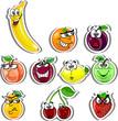 Постер, плакат: мультфильм фрукты