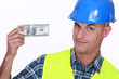 Tradesman earning a decent living