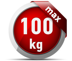 100 kg max weight recommended