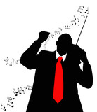 Nostalgia melody.  Musical background poster